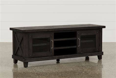 65 inch tv table jaxon 65 inch tv stand living spaces
