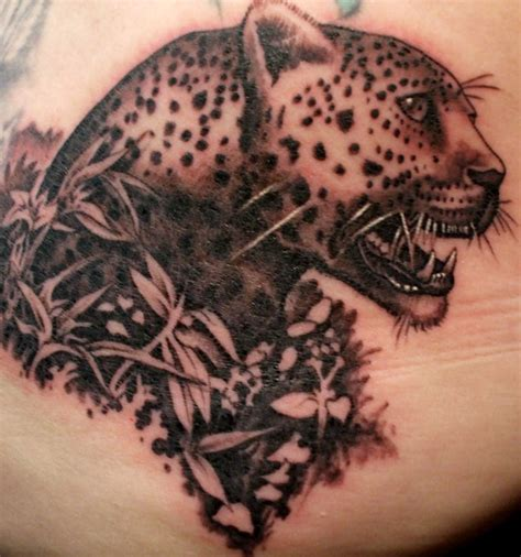 leopard skin tattoos designs design leopard