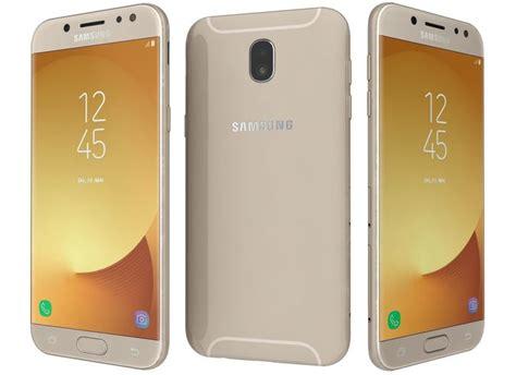3d samsung galaxy j5 2017 gold cgtrader