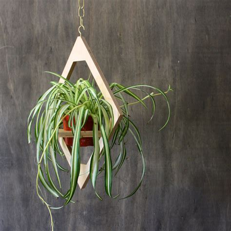 Modern Hanging Planter Mid Century Plant Stand Geometric Modern Hanging Planters