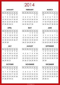 free yearly calendar template 2014 2014 calendar printable free calendar template 2016