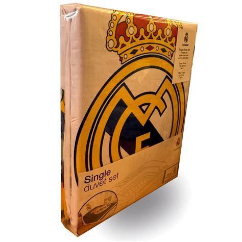 Tottenham Duvet Cover Official Real Madrid Single Amp Double Duvet Covers Football