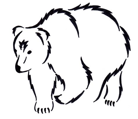 bear outline tattoo my future quot quot tattoos