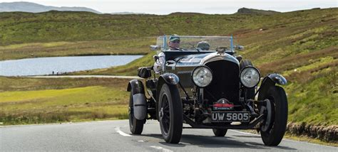 vintage bentley awards galore for vintage bentley on heritage trial