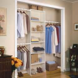 Shop Closet Organizers Closetmaid Adjustable Shelf Track Closet Organizer
