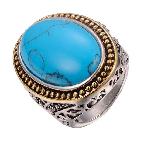 wholesale turquoise 925 sterling silver ring fashion ring