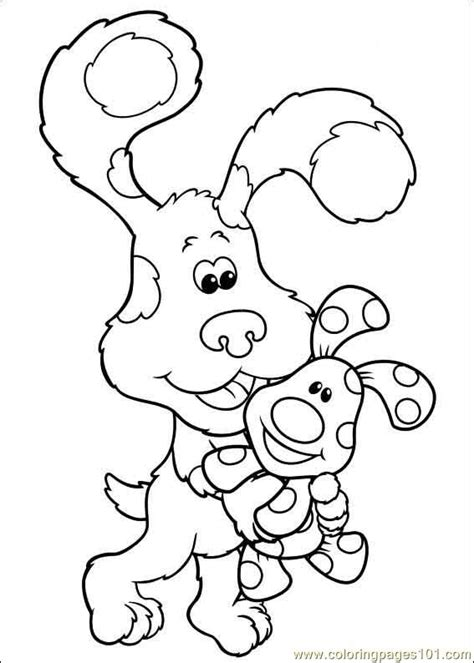 nick jr blue s clues coloring pages blues clues 39 coloring page free blue s clues coloring