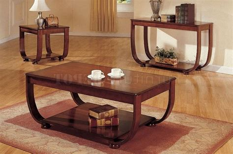 coffee and end table sets wood