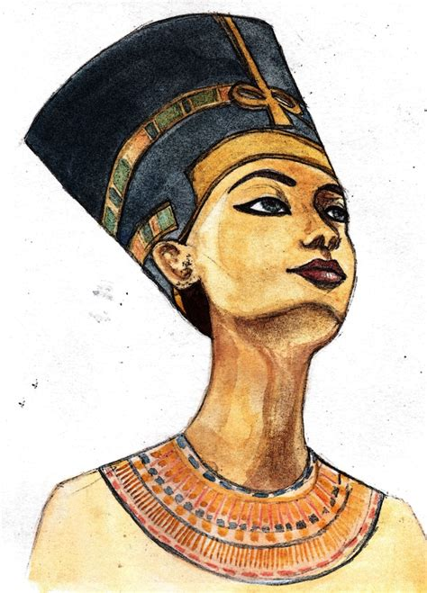 egyptian king and queen tattoo best 25 nefertiti ideas on