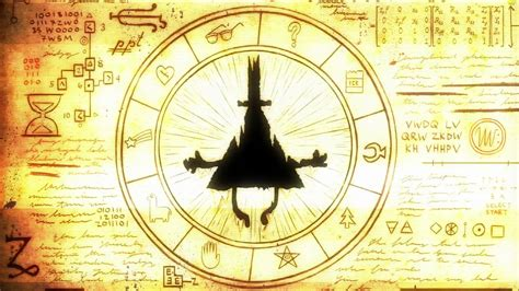 gravity falls bill cipher wheel gravity falls bill cipher wheel re visited youtube
