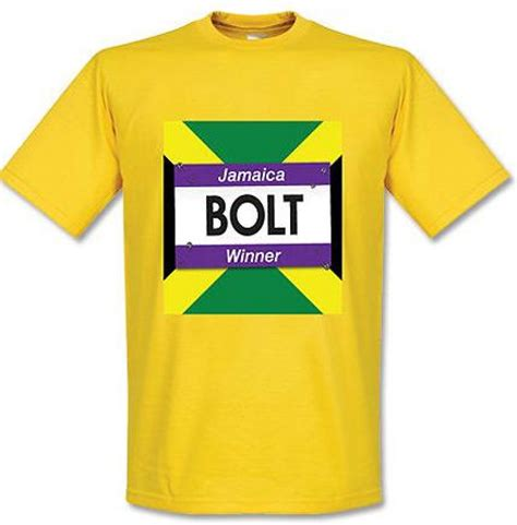 Tshirt Usain Bolt usain bolt winners t shirt yellow tshirtyellowkids