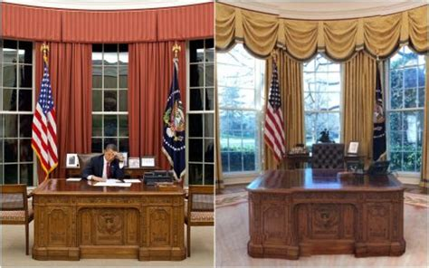 trump drapes oval office renovation the white house redesign