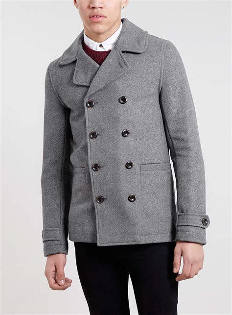light grey peacoat mens light grey pea coat mens coat racks
