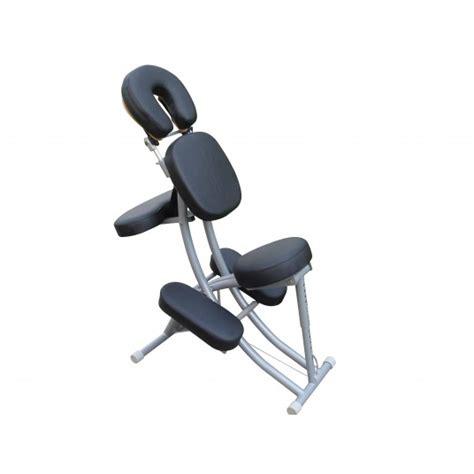 sedie da massaggio sedia da massaggio in alluminio praxiline nera a 274 40