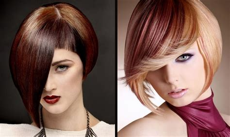 Two Tone Hairstyles by Two Tone Bob Hairstyles As Medium Haircuts For