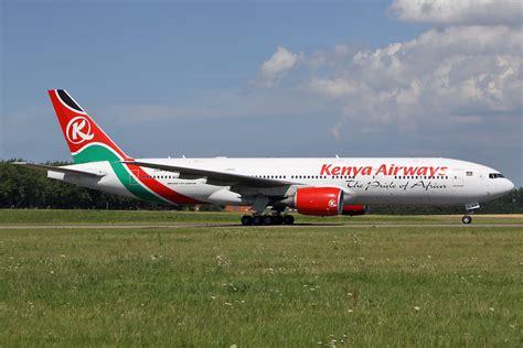 kenya airways phasing  boeing  airport spotting blog