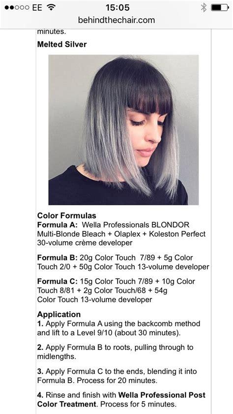 wella color charm formulas wella formulas 196 best wella color formula images on