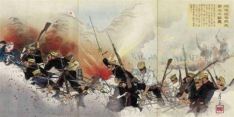 Japanesestyle Japanese 1904 1905 War Engravings
