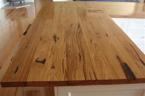 reclaimed wood benchtop messmate bench tops recycled timber