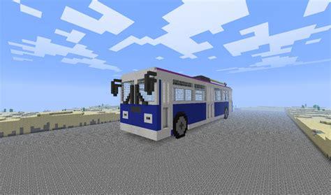 Minecraft Home Interior Ideas Trolley Bus Minecraft Project
