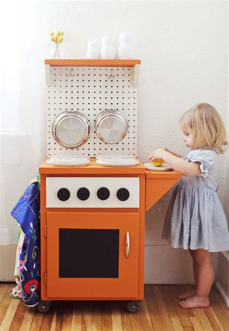 diy play kitchen ideas 12 awesome diy play kitchens