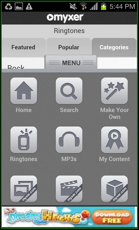 myxer app for android myxer ringtones for android 28 images myxer 1mobile