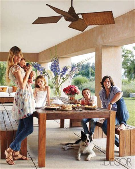 elle decor celebrity homes nacho figueras nachos and polos on pinterest