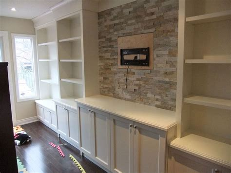 built in wall shelves with tv furniture white varnished new built in wall units with