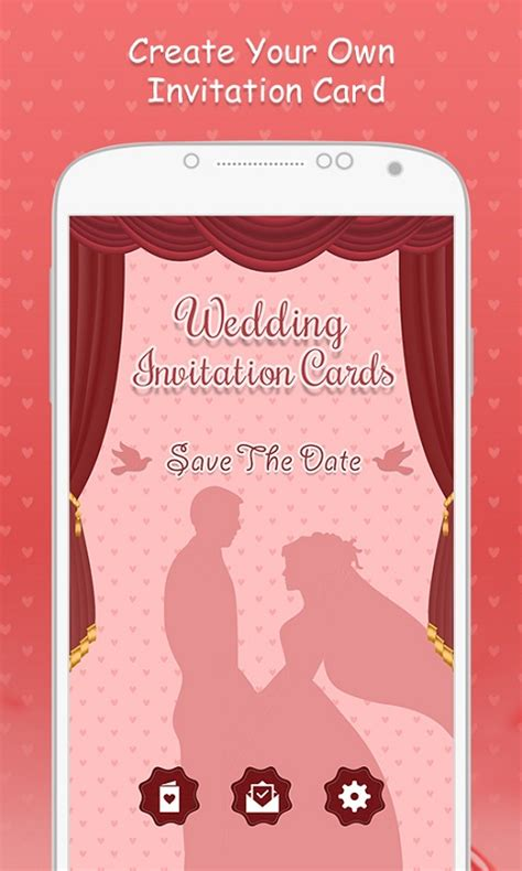 Invitation Card Design App For Android | wedding invitation cards free android app android freeware