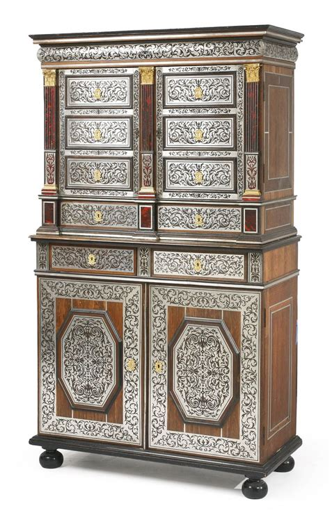 armoir bureau cuisine a regency style black and gilt japanned collector