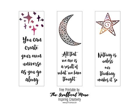 printable bookmarks with quotes printable bookmarks with quotes black and white