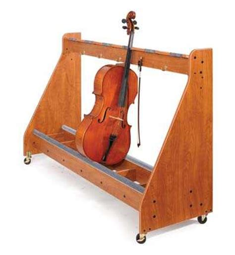 Cello Rack by Cello Rack 4 Unit Instrument Storage Instrument