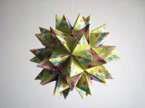 Revealed Flower Origami - origami kusudama revealed flower by andy chanwanttodraw
