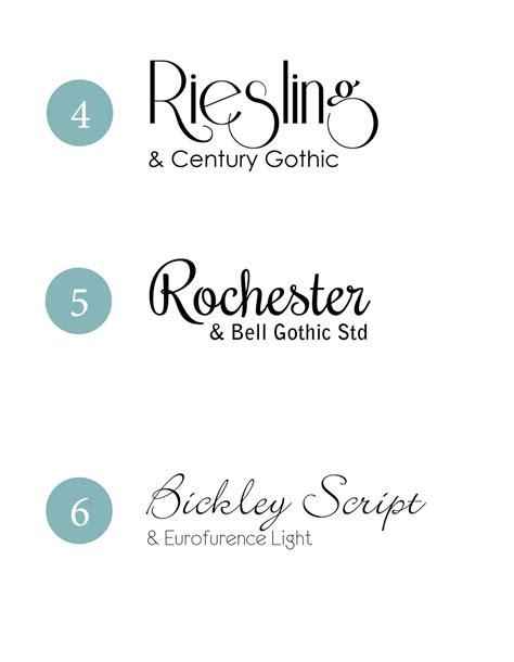 Wedding Invitation Font Combinations by Design Fixation Typeface Tuesday Wedding Font Combinations