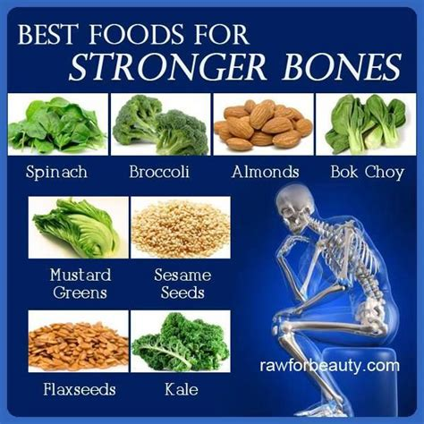 8 Tips To Make Your Bones Stronger by Foods For Stronger Bones Problem Many Foods Low In