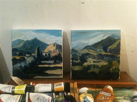 Landscape Paintings New Zealand New Zealand Landscape Paintings Dave Gibbons Artwork
