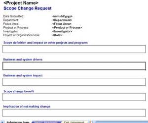 project scope change template tracking projects archives my excel templates