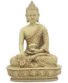 Yoga Desk Miniature Buddha Statue Wish Giving Mudra 5 Inches