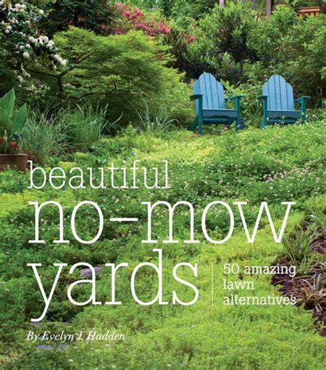 grass is not the only option for your lawn a book review