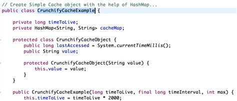 tutorial java hashmap implement simple threadsafe cache using hashmap without