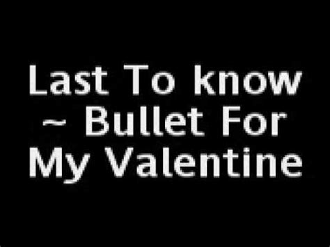 end of days bullet for my lyrics last to bullet for my lyrics