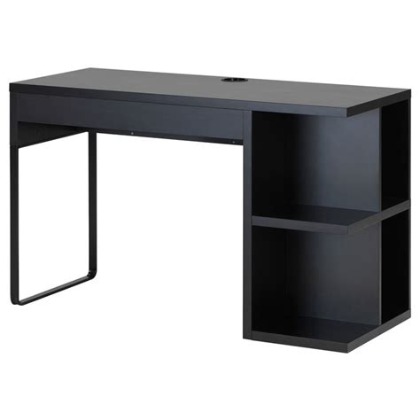 black desk with storage discover and save creative ideas