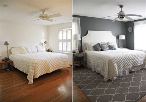 before and after bedroom makeovers master bedroom makeover before after decor more