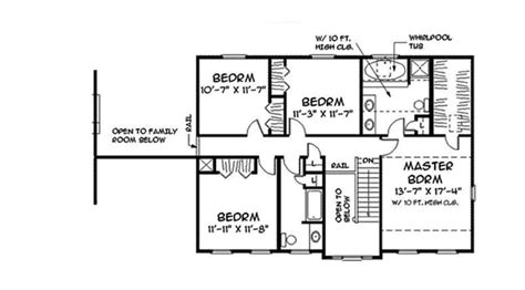 old fashioned house plans old fashioned colonial 3706tm 2nd floor master suite