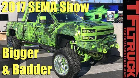 las vegas monster truck show bigger badder the cool trucks cars of 2017 sema