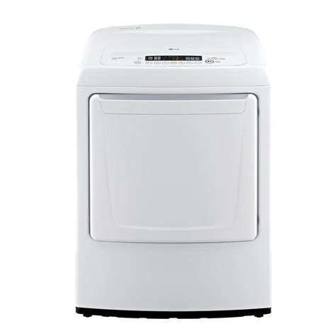lg gas dryer lg electronics 7 3 cu ft gas dryer with front in