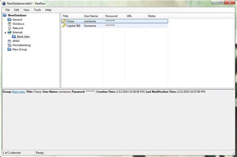 keepass template credit card 5 password managers that protect your personal data