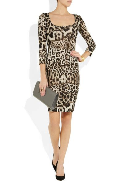 Friday Afternoon Dresses From Net A Porter by Just Cavalli Leopard Print Jersey Dress Net A Porter