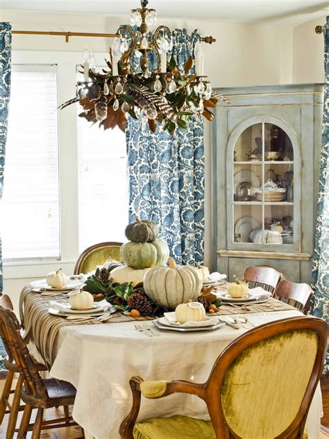 a thanksgiving dining room makeover hgtv 37 rocking thanksgiving table setting ideas table