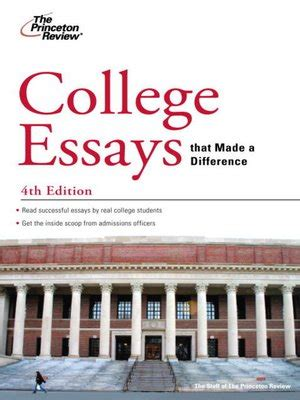 Princeton Admission Essays by Princeton Review 183 Overdrive Rakuten Overdrive Ebooks